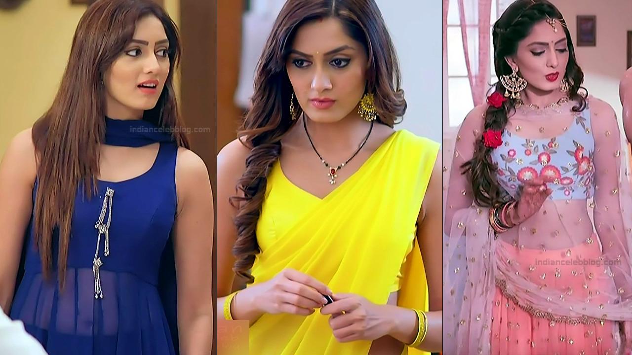Parvati Vaze hot navel n backless show hindi tv HD caps