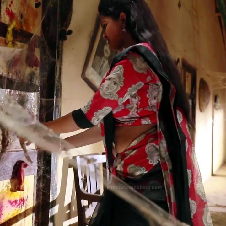 Rachitha Mahalakshmi Saravanan MS1 6 hot saree caps