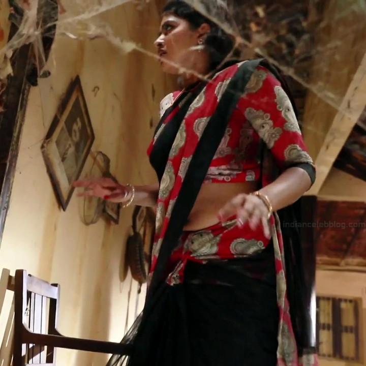 Rachitha Mahalakshmi Saravanan MS1 8 hot saree navel caps