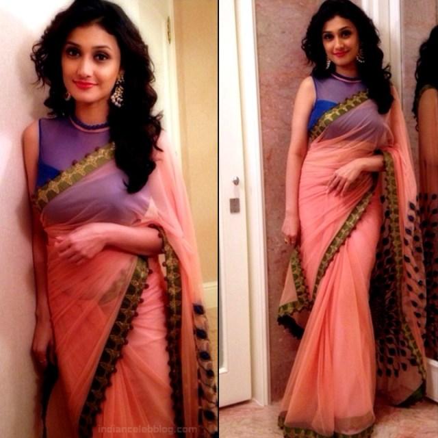 Ragini Khanna Hindi TV Actress CelebTS1 21 hot Saree photos
