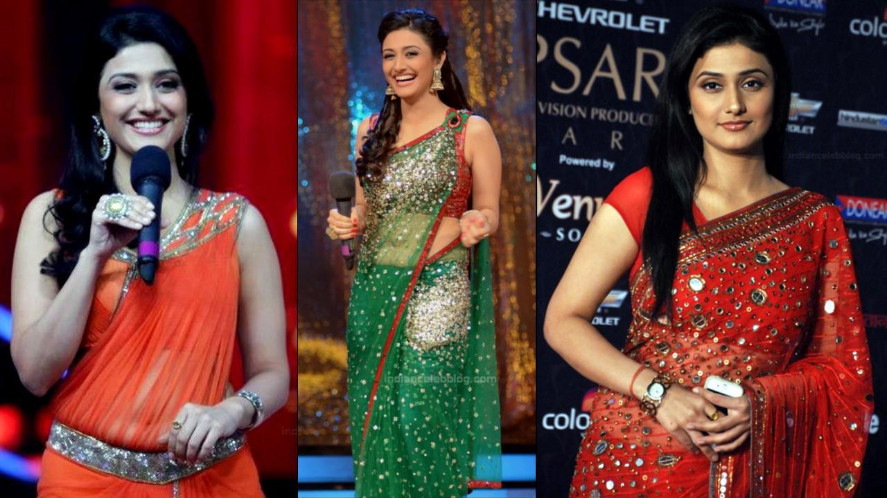 Ragini Khanna sexy see through saree events photo gallery