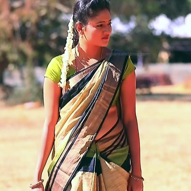 Ranjani Raghavan Kannada TV actress PuttGMS2 18 hot saree photos