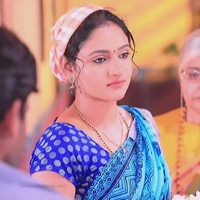 Ranjani Raghavan Kannada TV actress PuttGMS2 4 hot saree caps
