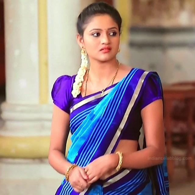 Ranjani Raghavan Kannada TV actress PuttGMS2 7 hot sari pics