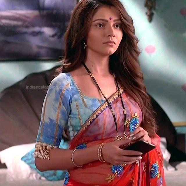 Rubina Dilaik Hindi TV actress ShaktiAS5 10 hot sari photo