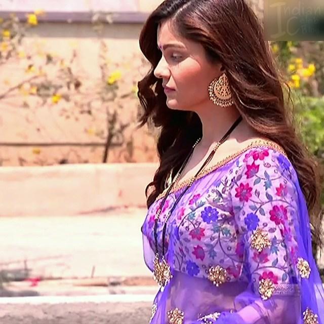 Rubina Dilaik Hindi TV actress ShaktiAS5 3 hot sari photo