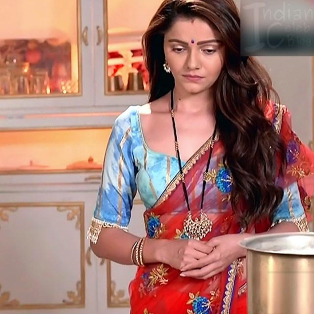 Rubina Dilaik Hindi TV actress ShaktiAS5 8 hot sari photo