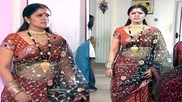 Sudha chandran Tamil TV actress PonDTS1 12 hot saree photo