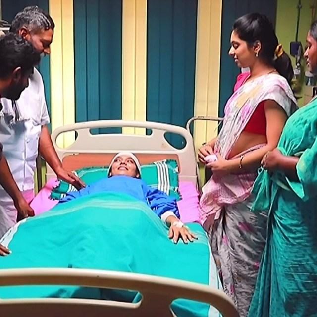 Syamantha Kiran Tamil tv actress Saravanan MS1 10 hot sari pics