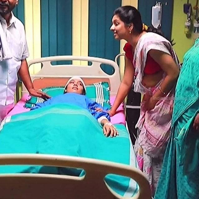 Syamantha Kiran Tamil tv actress Saravanan MS1 9 hot sari photo