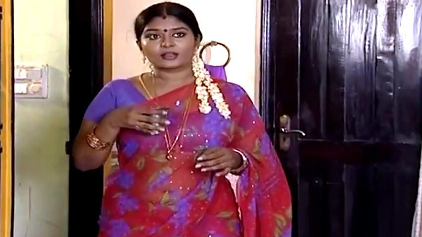 Neepa Tamil TV actress saree navel show Video
