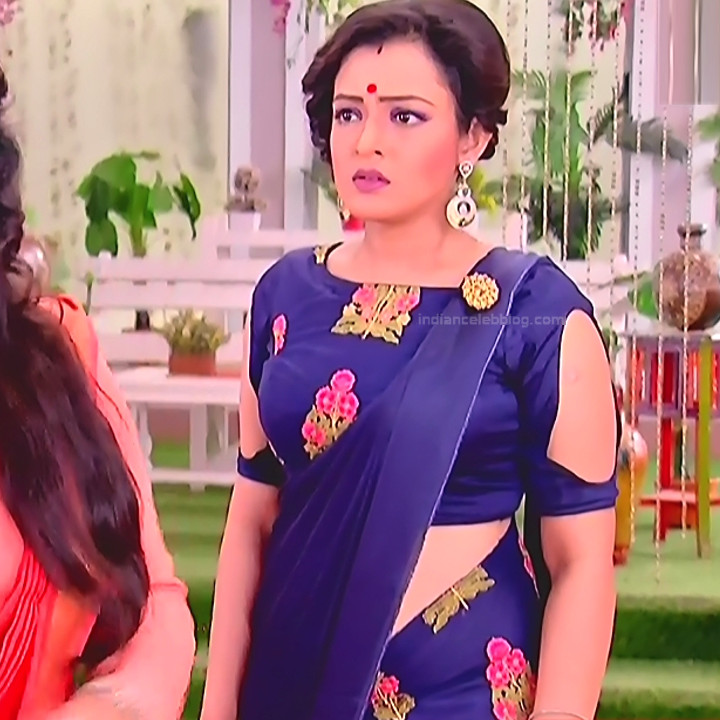 Bengali TV serial actress CompGS1 17 hot saree photo