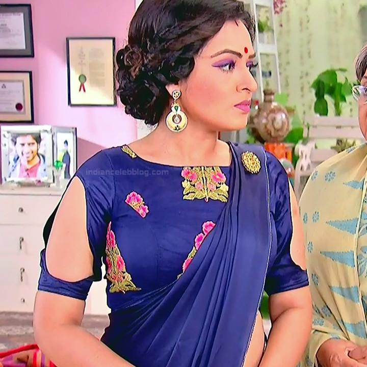 Bengali TV serial actress CompGS1 19 hot saree photo
