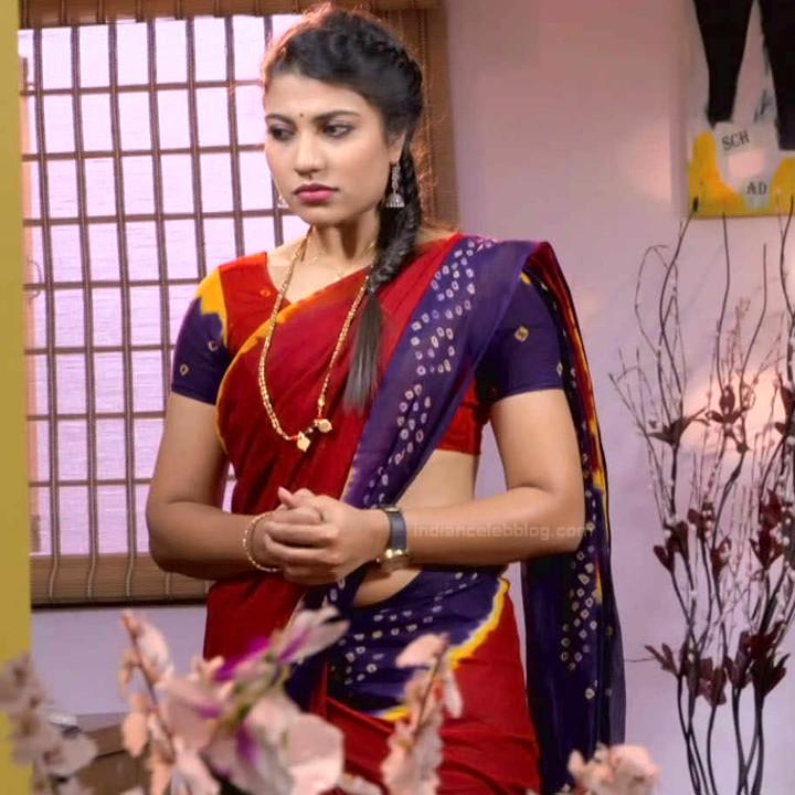 Chandana Raghavendra Kannada tv actress Sindoora S3 9 hot sari photo