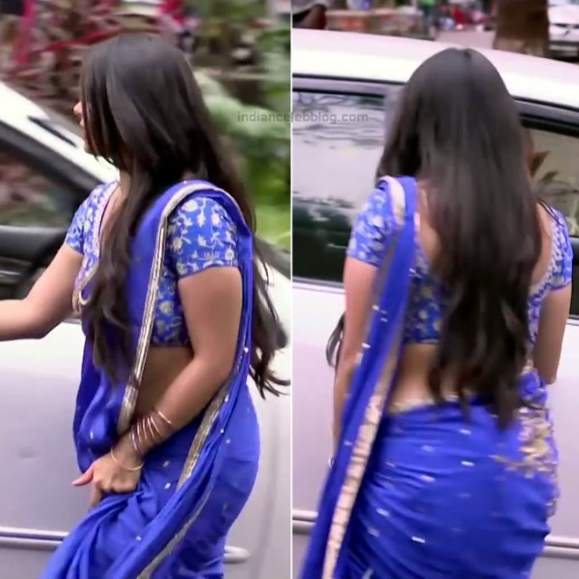 Chandni Bhagwanani hindi tv actress Tumhi S3 5 hot saree pics