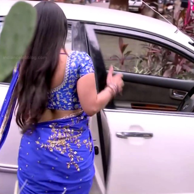 Chandni Bhagwanani hindi tv actress Tumhi S3 7 hot sari caps