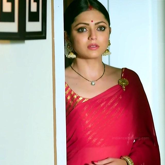 Drashti dhami hindi tv actress Silsila S2 5 hot saree caps