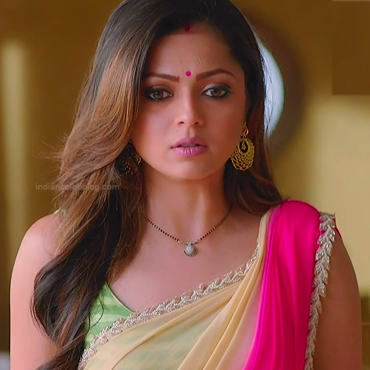 Drashti dhami hindi tv actress Silsila S2 8 hot sari caps