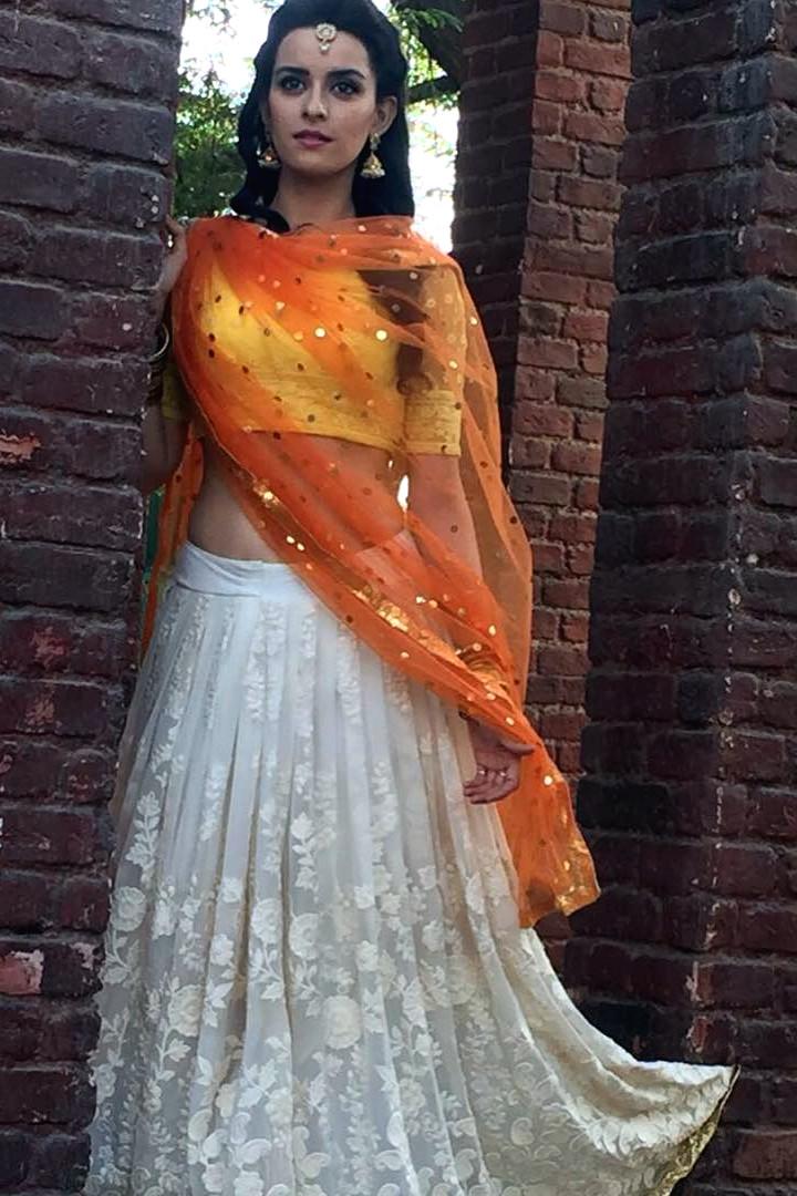 Ekta Kaul Hindi serial actress CTS1 13 hot lehenga photo