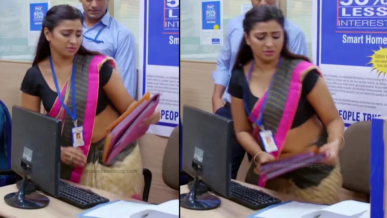 Hindi TV actress Aleeza khan CTS2 9 hot sari pics