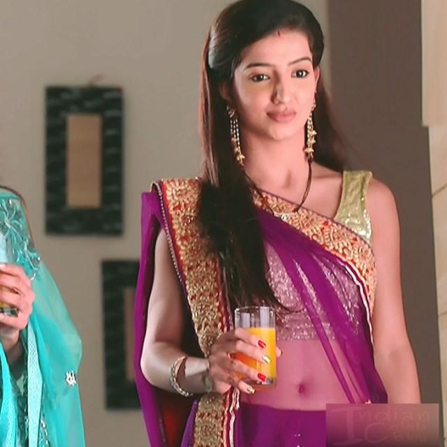 Lovey sasan hindi tv actress Saath NSS1 7 hot transparent sari photo