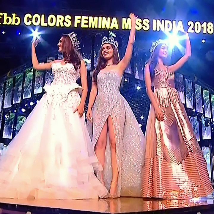 Manushi Chillar at Miss world 2018 Final 12