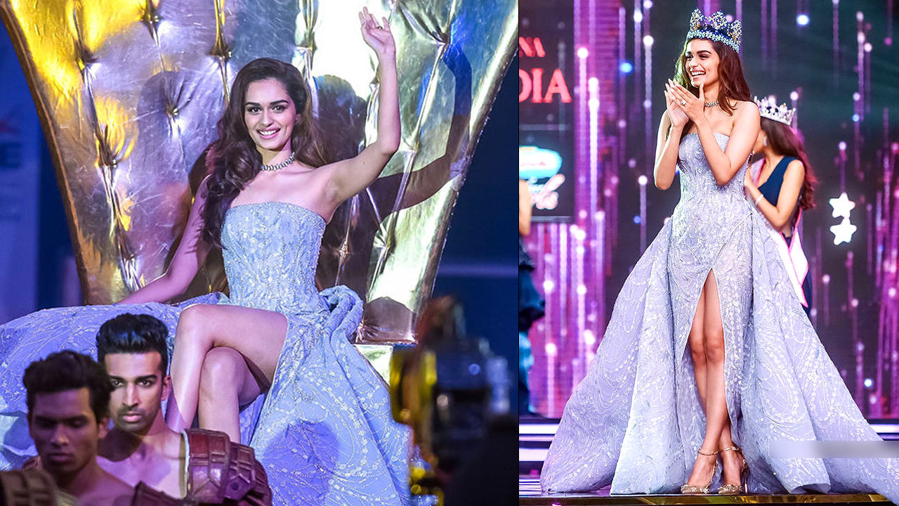 Manushi Chhillar photos at the Miss India 2018 Beauty Pageant