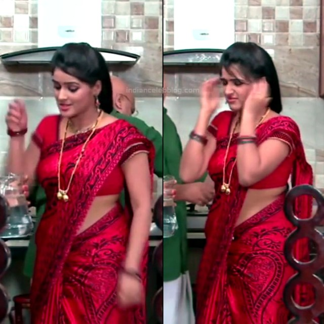 Monisha telugu tv actress Nandhini VNS1 13 hot saree pics