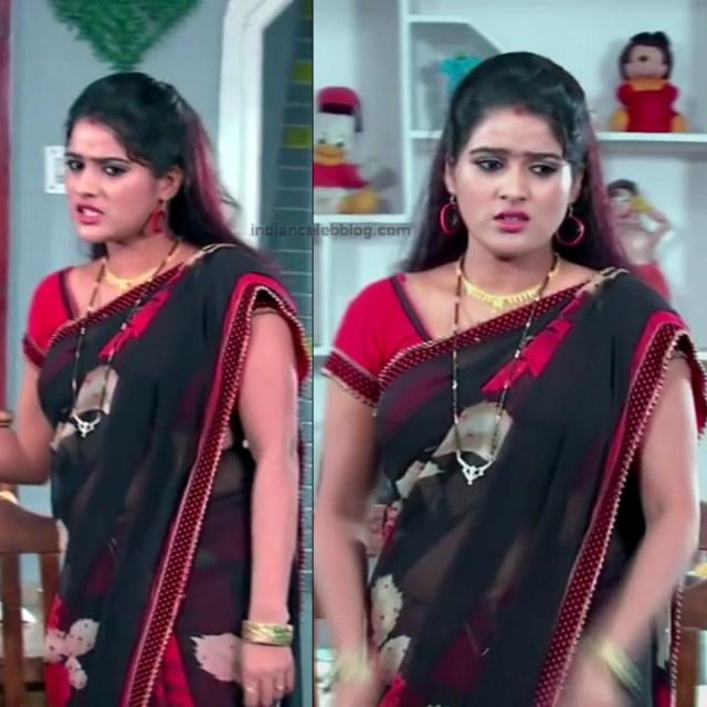 Monisha telugu tv actress Nandhini VNS1 21 hot saree pics