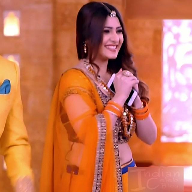 Naazuk Lochan Hindi TV actress JijiMS1 2 hot lehenga pics