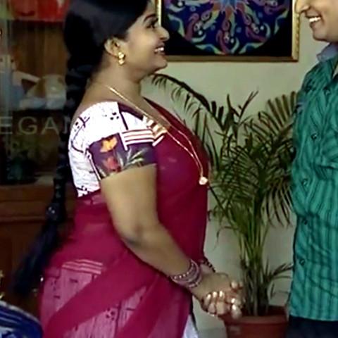 Neepa tamil tv actress PonDTS1 14 hot sari caps
