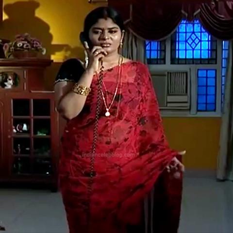 Neepa tamil tv actress PonDTS1 17 hot sari pics