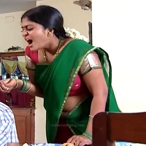 Neepa tamil tv actress PonDTS1 7 hot saree navel photo
