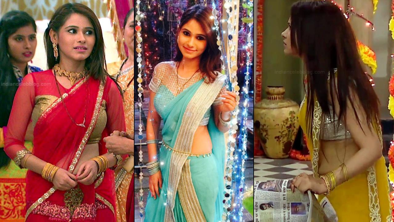 Pallavi Gupta Hot Saree Photo gallery & TV Caps