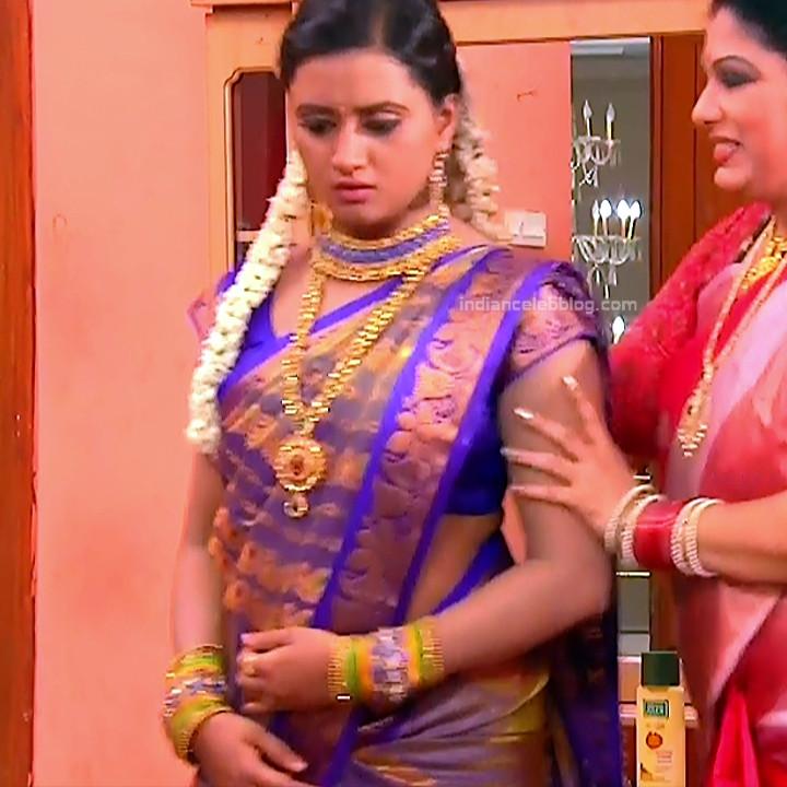 Princy B Krishnan Telugu Tv actress Kumkuma PS2 5 hot saree image