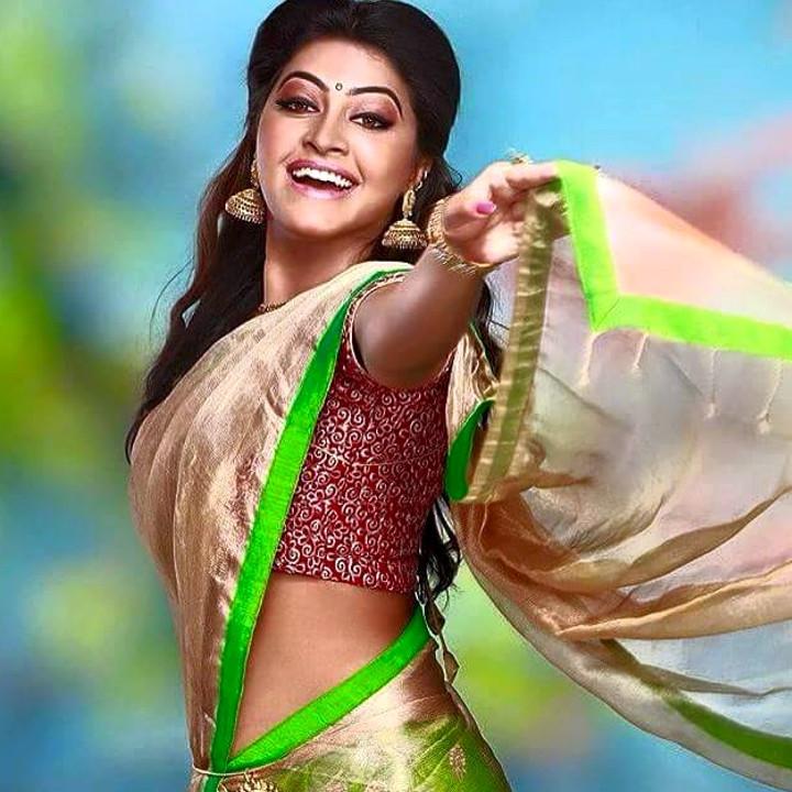 Rachitha Mahalakshmi Tamil TV actress CTS1 12 hot saree photo