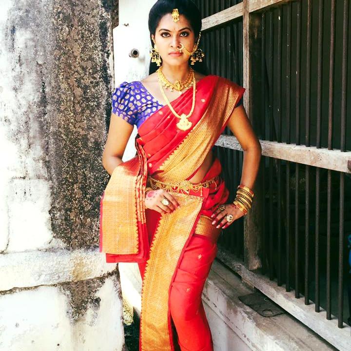 Rachitha Mahalakshmi Tamil TV actress CTS1 7 hot saree photo