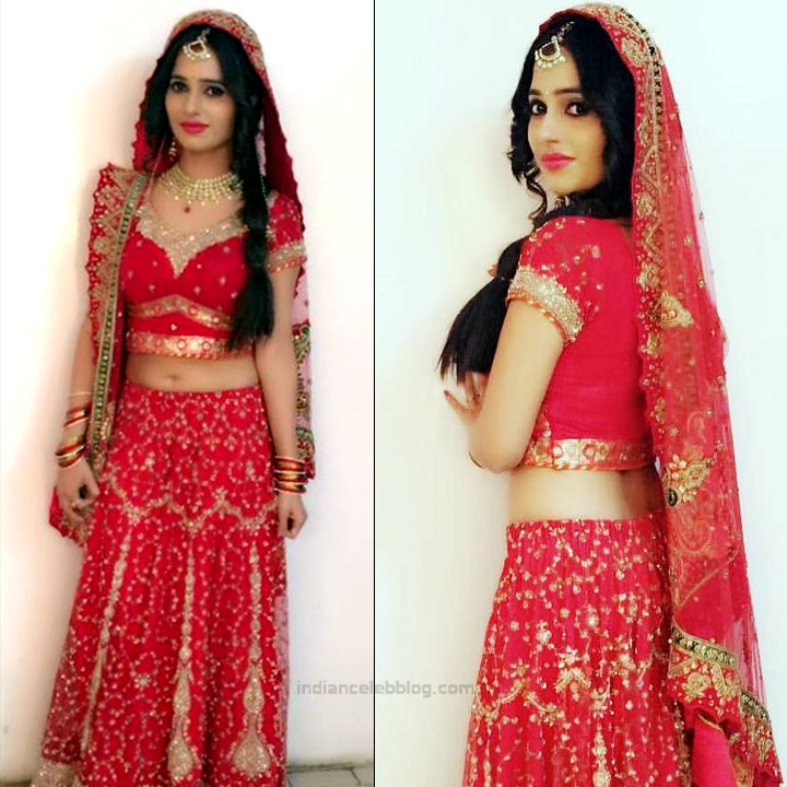 Roshni rastogi hindi tv actress CelebTS1 5 hot lehenga pics