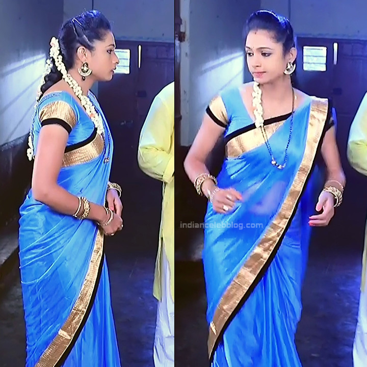 Ruthu Sai Kannada TV actress Putta GMS1 1 hot sari pics
