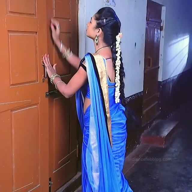 Ruthu Sai Kannada TV actress Putta GMS1 2 hot sari photo