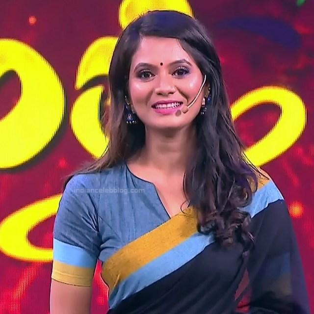 Shwetha R Prasad Kannada TV actress Radha RS1 10 Sari photo
