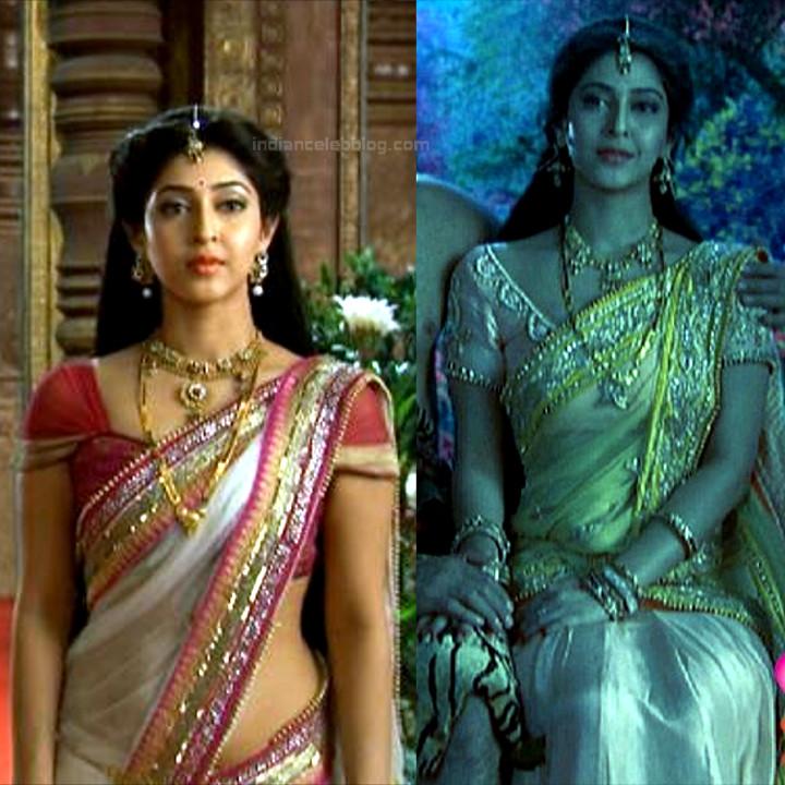 Sonarika Bhadoria Tv actress Devon ke dev CTS1_13_Hot Sari photo