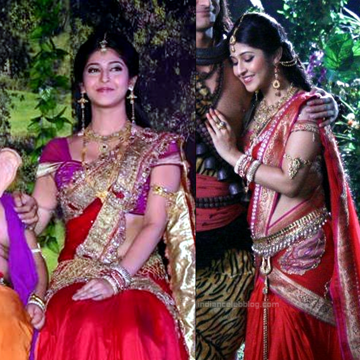 Sonarika Bhadoria Tv actress Devon ke dev CTS1_5_Saree pics
