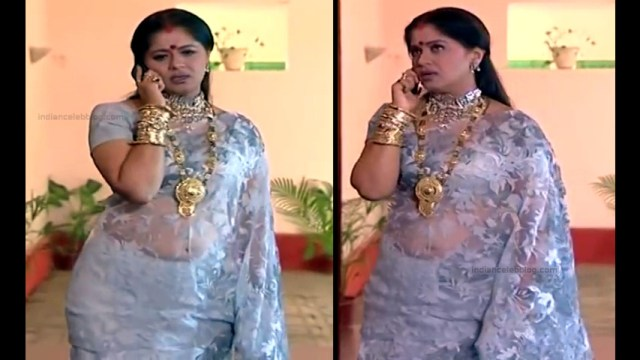 Sudha chandran tamil tv actress Pondatti TS2 4 hot saree caps
