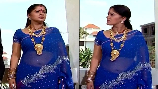 Sudha chandran tamil tv actress Pondatti TS2 7 hot saree photos