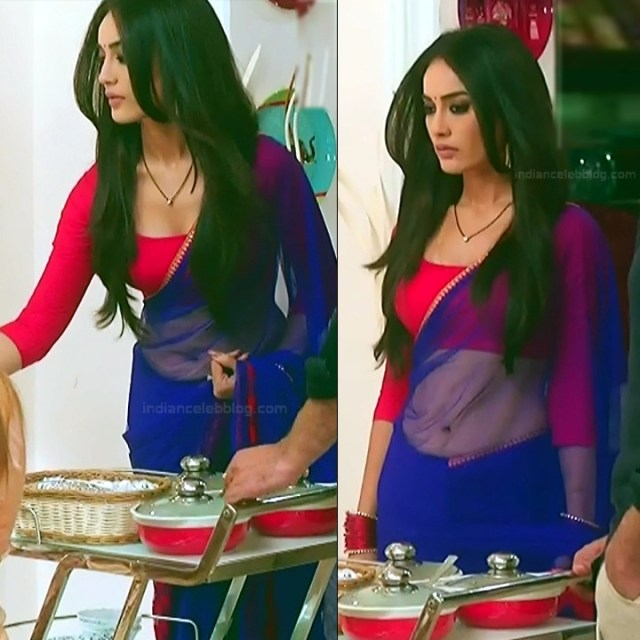 Surbhi Jyoti Hindi TV Actress Naagin 3S2 13 hot sari pics