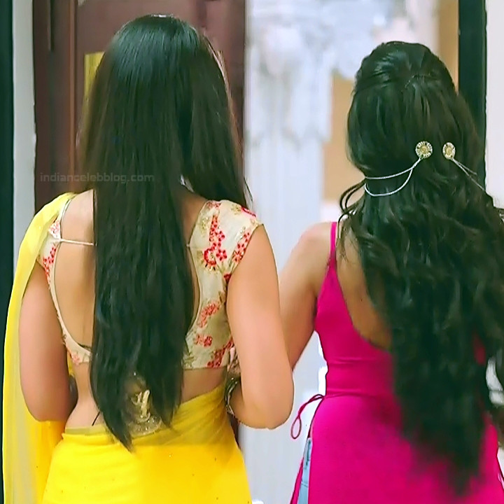Surbhi Jyoti Hindi TV Actress Naagin 3S2 19 hot saree caps