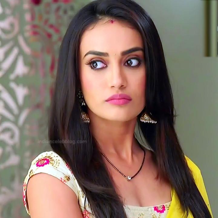 Surbhi Jyoti Hindi TV Actress Naagin 3S2 34 hot saree photo