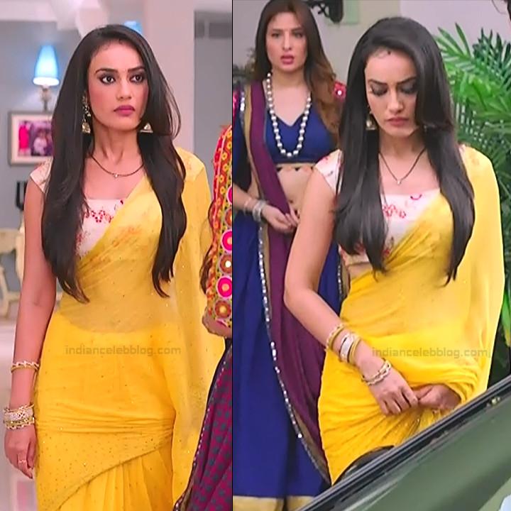 Surbhi Jyoti Hindi TV Actress Naagin 3S2 37 hot saree pics