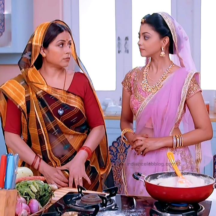 Tanvi Dogra Hindi serial actress Jiji maa S1 1 saree photo